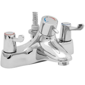 Deva DLTTSM106 Thermostatic Bath Shower Mixer Lever Action