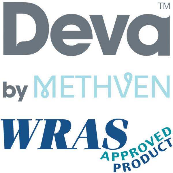 "Deva DLV305WM Wall Mounted 6"" Lever Bridge Sink Mixer"