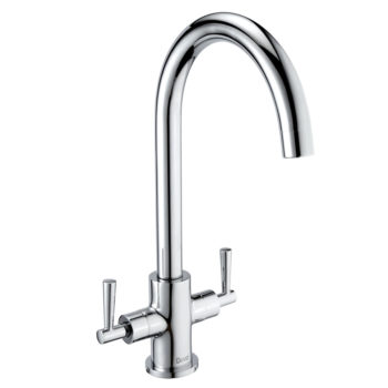 Deva Nelson Mono Kitchen Sink Tap Chrome