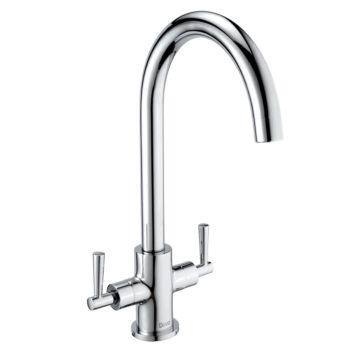 Deva Nelson Mono Kitchen Sink Tap Chrome