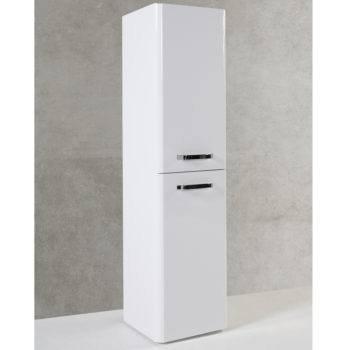 Options Wall Mounted Side Unit 300mm White