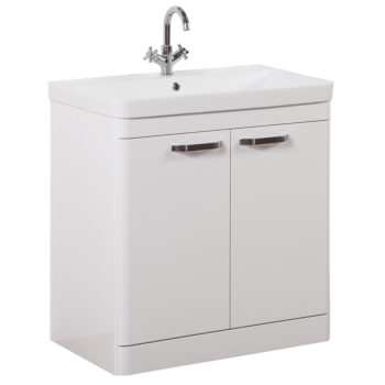 Options Vanity Unit 800mm White