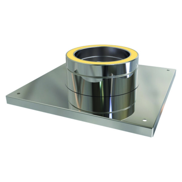 (Dropship) Console Plate 125mm Stainless Steel