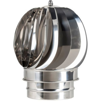(Dropship) Rotating Spinning Cowl Stainless Steel 150mm