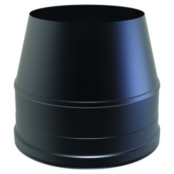 (Dropship) Cone Top Cowl Black 125mm