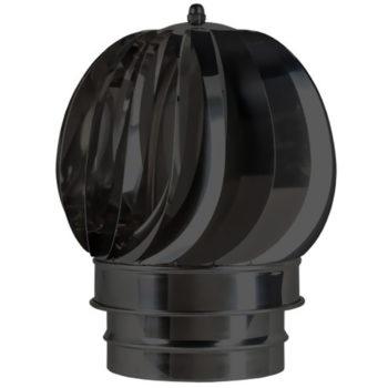 (Dropship) Rotating Spinning Cowel Black 125mm