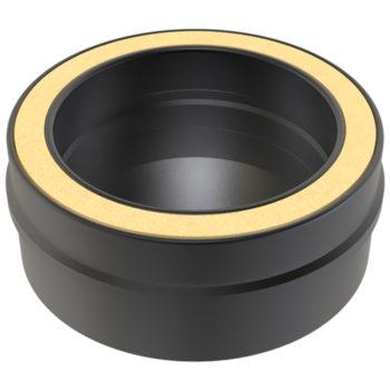 (Dropship) Tee Cap 150mm Black