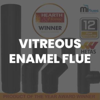 Vitreous Enamel Single Wall Flue