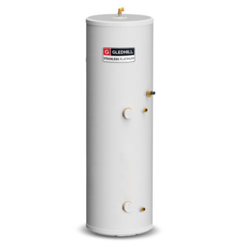 Gledhill Stainless Platinum 210L Direct Unvented Cylinder