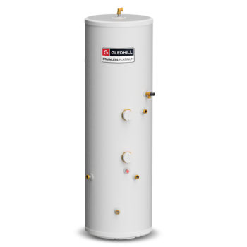 Gledhill Stainless Platinum 300L Indirect Unvented Cylinder