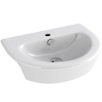 Imex Arco 550mm Semi Countertop Basin 1 Tap Hole