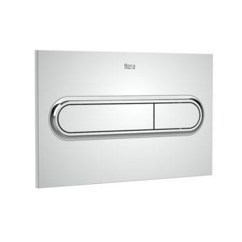 Roca Chrome PL1 Dual Flush Plate