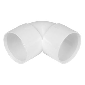 Davant 32mm White Solvent Weld Knuckle Bend 90