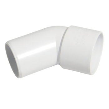 Davant 32mm White Solvent Weld Spigot Bend 45