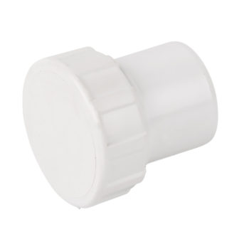 Davant 40mm White Solvent Weld Access Plug Screwed