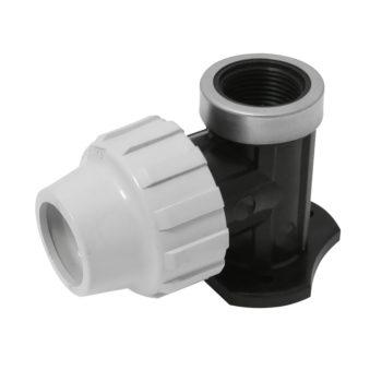 MDPE 20mm x 1/2 inch Bibtap Wall Support