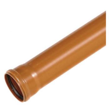 110mm Underground Drainage Pipe 3m