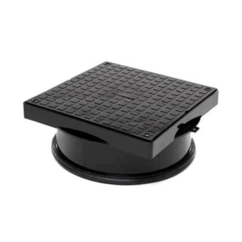 110mm Underground Round To Square Man Hole Cover 320mm