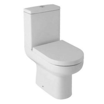 Scudo Revive Rimless Open Back Toilet inc Seat