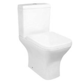 Scudo Porto Open Back Toilet inc Seat