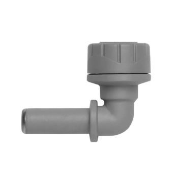Polyplumb 10mm Spigot Elbow Push Fit